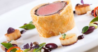 Terrace Restaurant: Beef Wellington