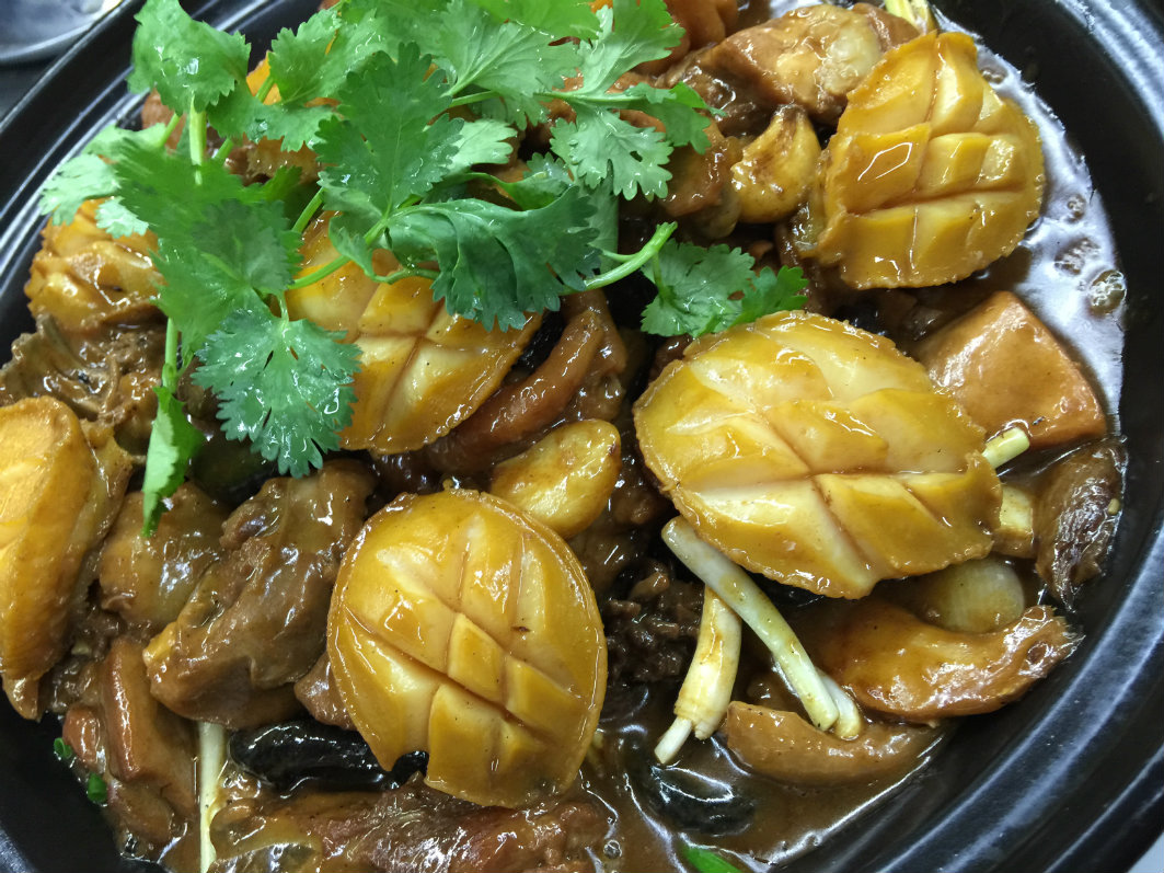 Teng Seng Chuen Yue Macau: Braised Abalone with Chicken