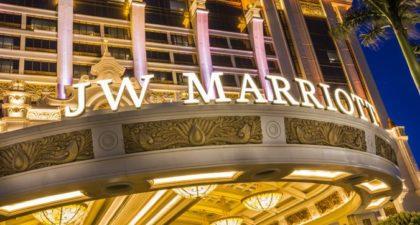 JW Marriott Hotel: Entrance