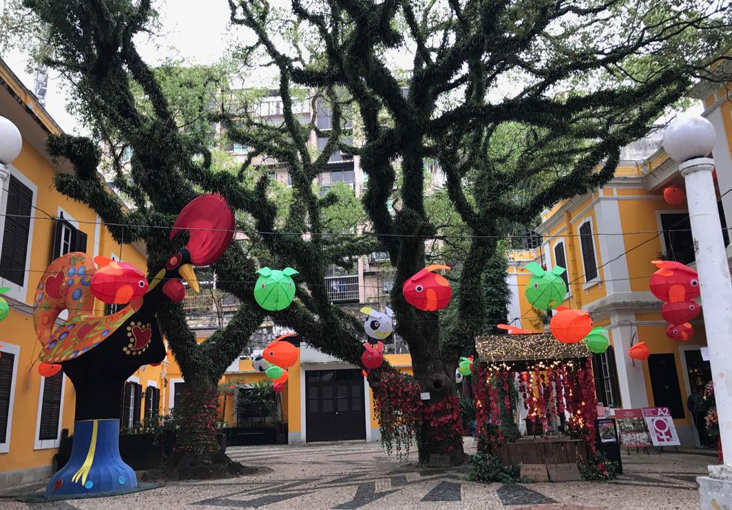 Albergue 1601 in Macau: Exterior