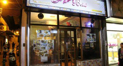 Macau: Exterior of Cafe Flor Bela