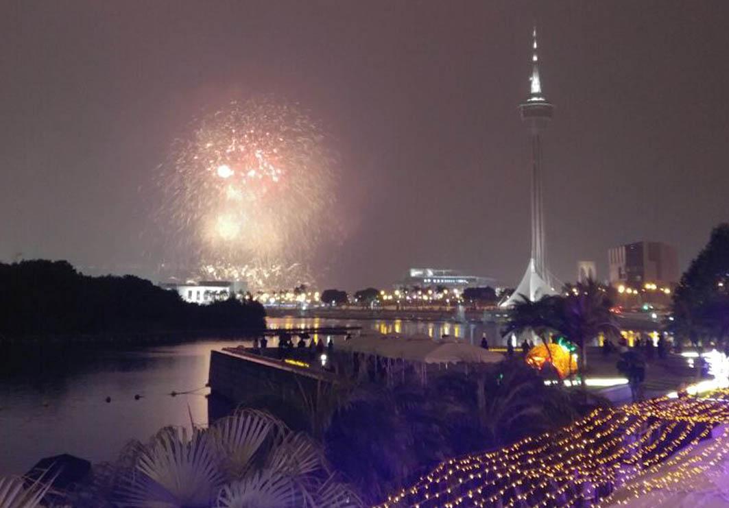 Macau: Fireworks