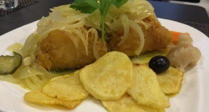 Mariazinha: Fried Codfish with Onion