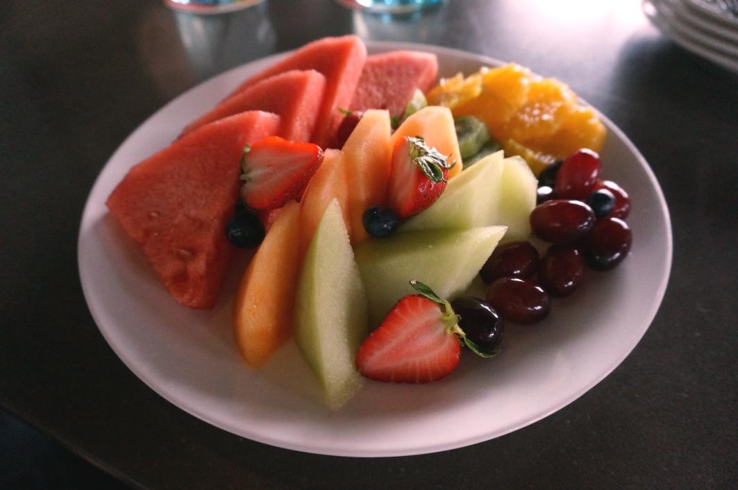 Sky 21 Macau: Fruit Platter