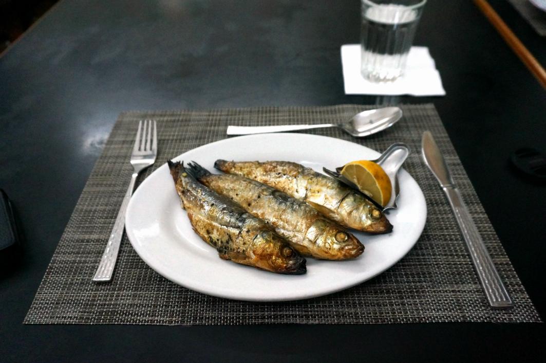 Rico's Macau: Grilled Sardines