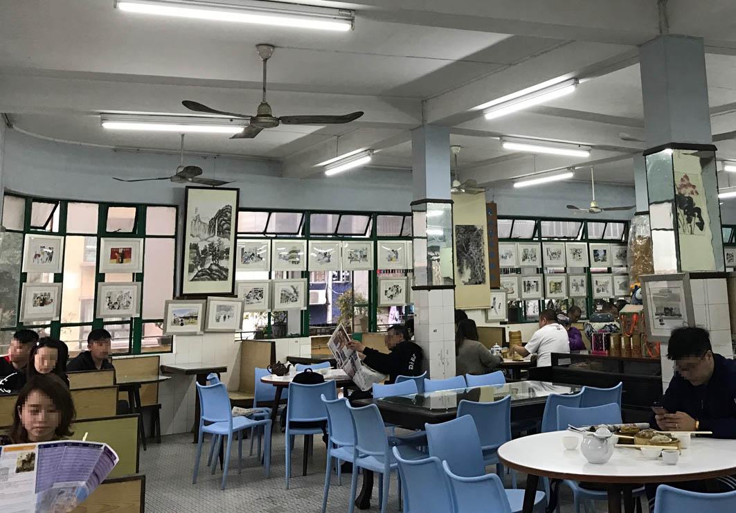 Long Wa Tea House Macau: Interior