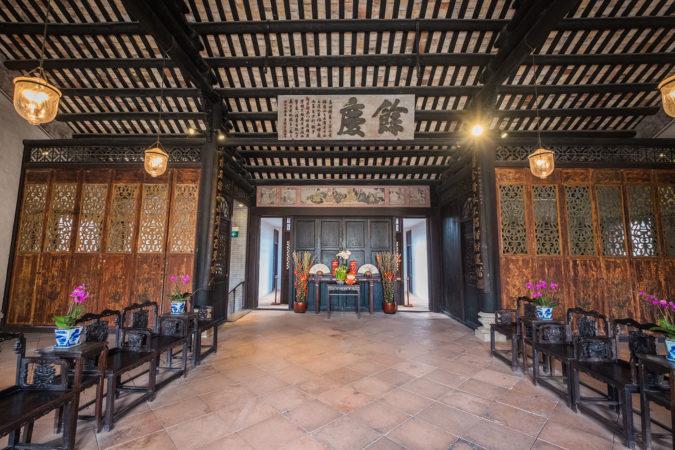 Mandarin's House: Interior