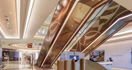 The Promenade Shops at Galaxy Macau: Interior