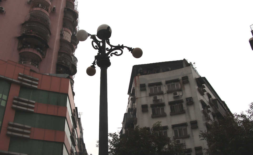 Three Lamps District Macau: Lamp