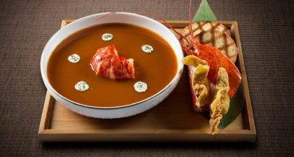 Terrace Restaurant: Lobster Soup