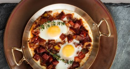 The Manor : Meditteranean-style Baked Egg