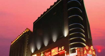 Casino Golden Dragon: Night view