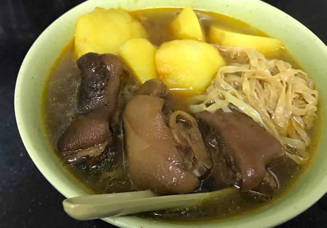 Seng Heng Kei (Wang Tat): Noodles with Pork