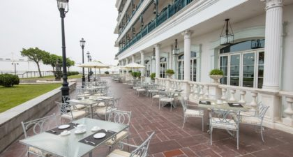 Vic's Restaurante: Outdoor