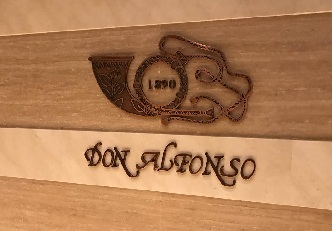 Don Alfonso 1890 Macau: Restaurant Logo