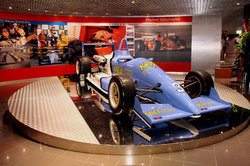 Grand Prix Museum in Macau: Schumacher's Car