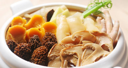 Jin Yue Xuan: Chicken Soup with Fish Maw and Sea Conch