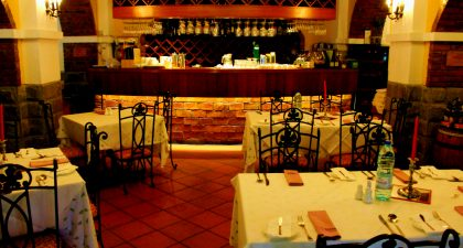 Restaurante Vinha: Seating