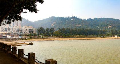 Hac Sa Beach: View
