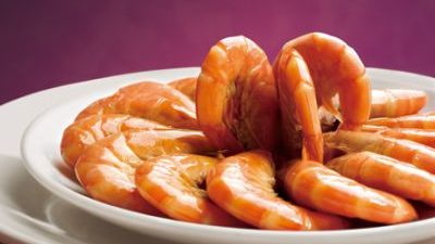 Catalpa Garden: Shrimps in rice wine sauce