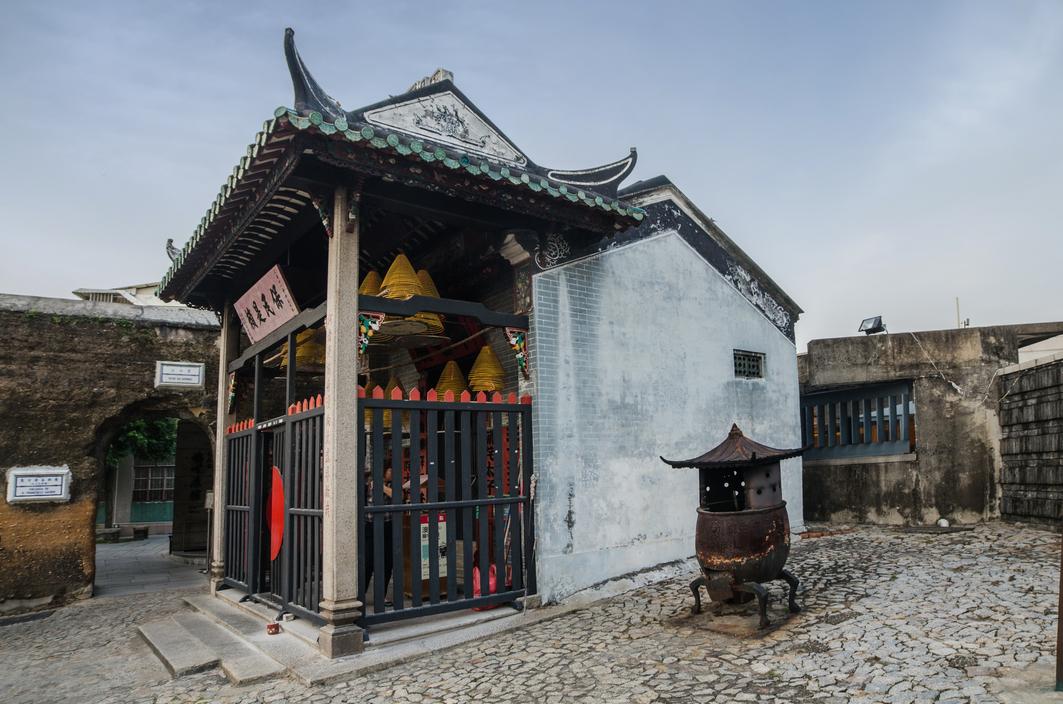 Macau, Na Tcha Temple Exterior