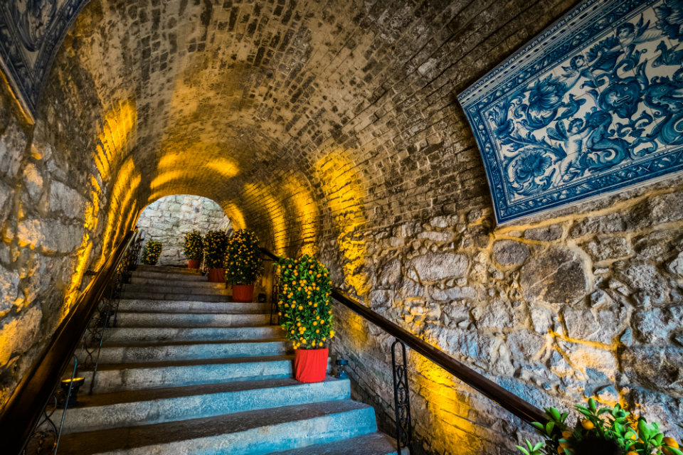 Sao Tiago da Barra Macau: Staircase