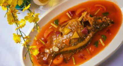 Jardim das Borboletas: Crispy Fish with Sweet-and-Sour Sauce