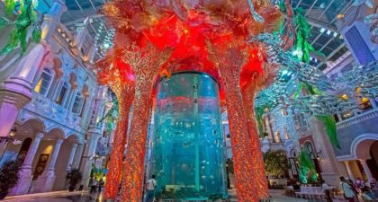 MGM Macau Grande Praca: Aquarium