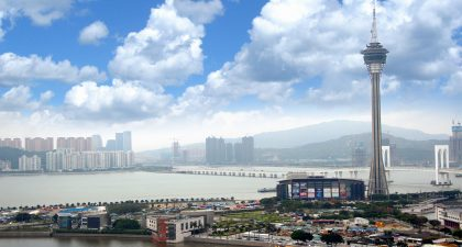 Macau: View from Sky 21